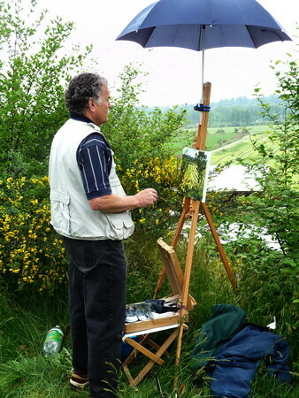 Plein Air in Fort Langley
